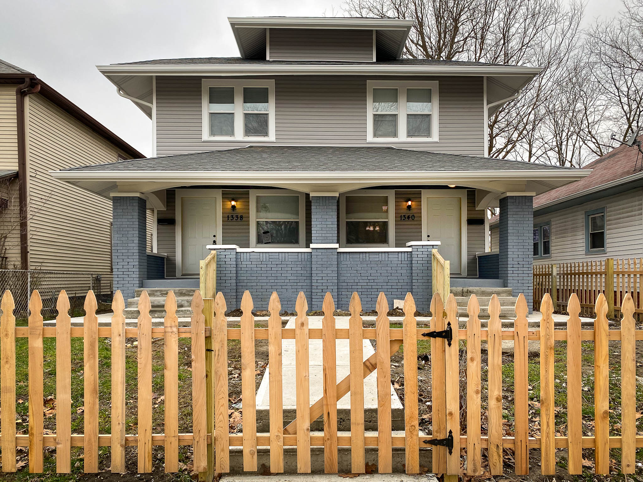 1338 / 1340 N Olney St. Indianapolis, IN 46201